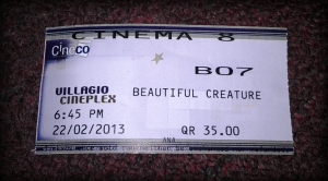 watched beautiful creatures!